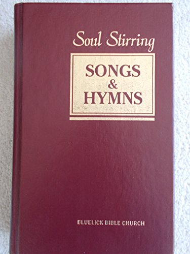 Soul Stirring Songs & Hymns, MAROON (Hardcover) (Rev. Ed. 1989)