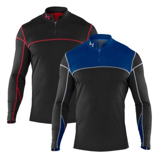 Under Armour Herren Shirt CG THERMO 1/4 ZIP, blk, XL -