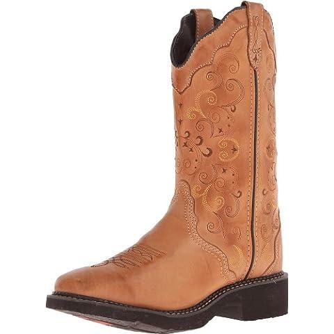 Botas de Justin L2907 marrón para mujer Botas de correr Western