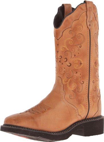 Justin Boots Stiefel L2907 Braun Damen Westernreitstiefel