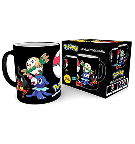 Pokemon Evolve Heat Reactive Mug