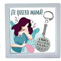 """Llavero día de la madre con mensaje grabado""""Mamá, todo lo que soy te lo debo a ti"""" - Regalos originales día de la madre"""