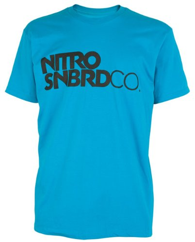 Nitro Snowboards Herren T-Shirt WORD MARK SS, acid, M, 1111-872789