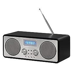 Hama DR1500 Digitalradio (DAB+, DAB, FM, Bluetooth-Funktion, USB-Anschluss mit Ladefunktion)