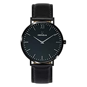 ORPHELIA Mens Analogue Classic Quartz Watch with Leather Strap OR61800