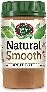 Mother Earth Peanut Butter Smooth Natural - 380g