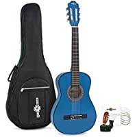 Pack de Guitarra Española Junior 1/2 de Gear4music - Azul