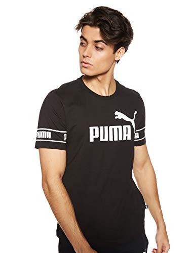 PUMA Amplified Big Logo tee Camiseta para Hombre
