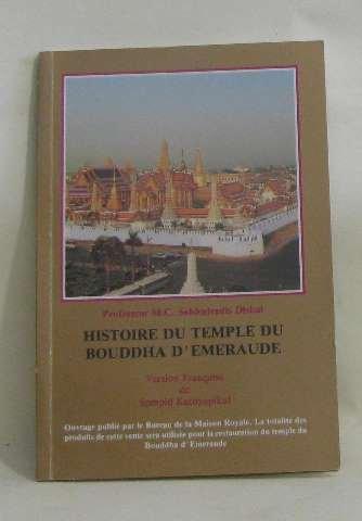Histoire du temple du bouddha d'emeraude
