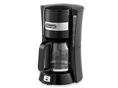 De'longhi 1.3 L Filter Coffee Maker of 10-15 Cup Capacity, 900 W - Black