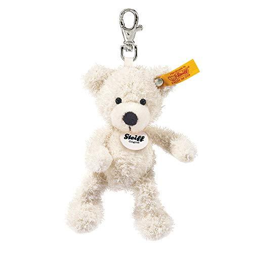 Steiff 111785 Teddyb.Lotte12 Weiss Schlüsselanhänger