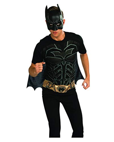 Horror-Shop Batman Movie Shirt mit Maske XL