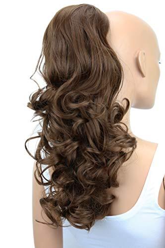 PRETTYSHOP 55cm Haarteil Zopf Pferdeschwanz Haarverdichtung Haarverlängerung VOLUMINÖS braun #9 PH18