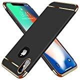TORRAS iPhone X Case, iPhone Xs Case, 3 in 1 Hybrid Ultra Thin