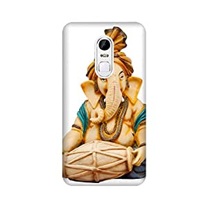 Abaci designed Xiaomi Redmi Note 4 Mobile Back cover with Perfect Matte finishing and Ganesha Religious design(Multicolor)