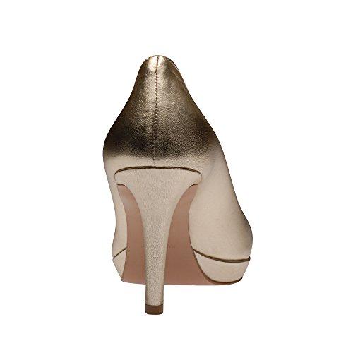 Evita Shoes, Chaussures À Talons Pour Femme Gold (or)