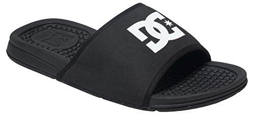 DC Shoes Bolsa M, Herren Zehensandalen, Schwarz - Schwarz - Schwarz (Black) - Größe: 43 (Sandalen Dc Shoes Schwarz)