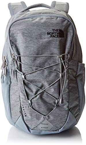 THE NORTH FACE Jester Rucksack, Mid Grey Dark Heather/TNF Black, One Size -