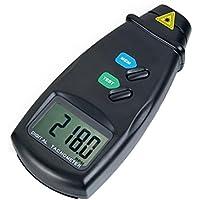Digital láser sin contacto Fototacómetro la medidor de RPM