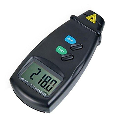 Digital-Laser-nicht Kontakt Foto Tachometer RPM Vermesser (Kontakt-tachometer)