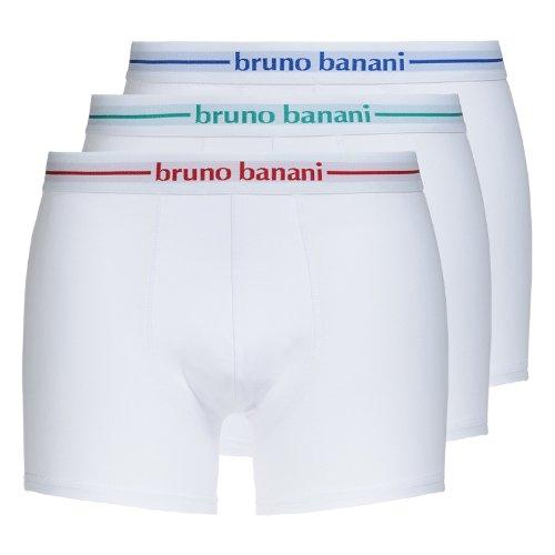 Bruno Banani - Boxer, Uomo Bianco (Weiß (Weiß 1))