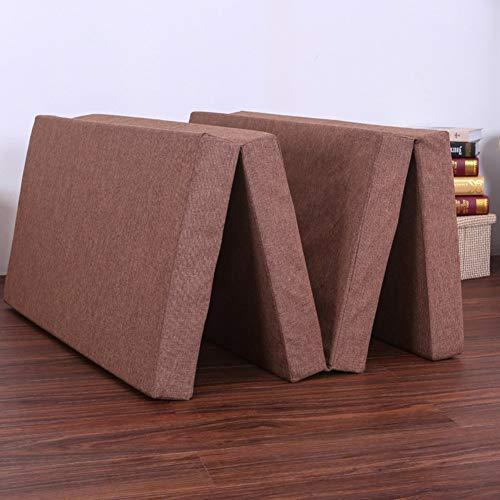 Huayer Komfort Matratze Bettmatte Bodenmatte Tatami-Bodenmatte, Tragbare Schlafmatte Einzelne Größe Schlafsaal Japanisches Bett-A 60x190cm (24x75 Zoll) (Farbe : E, Größe : 180x200cm(71x79inch)) -