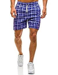 BOLF – Pantalons de sport Pantalons courts Maillot de bain Bermudy Homme 7G7 Motiv