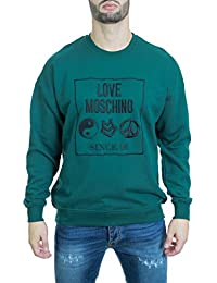 Love Moschino Felpa Uomo M650606M3875 - Verdone 235fb9bb4be