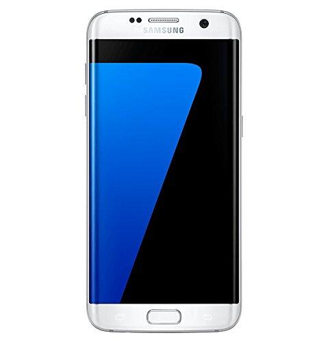 Samsung Galaxy S7 Edge, Smartphone libre (5.5'', 4GB RAM, 32GB, 12MP) [Versión italiana: No incluye Samsung Pay ni acceso a promociones Samsung Members], color Blanco