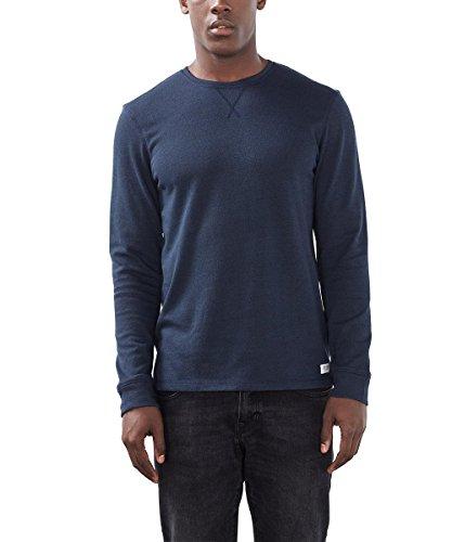 edc by ESPRIT Herren T-Shirt 106cc2k002 Blau (navy 400)