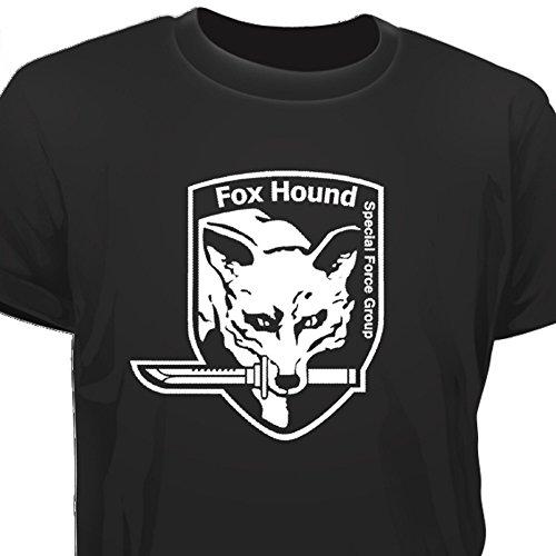 Creepyshirt - MGS METAL GEAR SOLID INSPIRED - FOXHOUND T-SHIRT - M