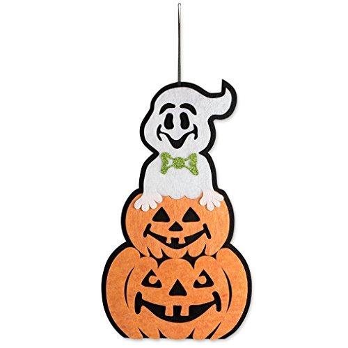 Meisijia Hängende Partei-Verein-Dekoration Ornament Fenster-Wand-Aufhänger Halloween-Haus-Innen Kürbis Anhänger Tür Dekor-Zeichen