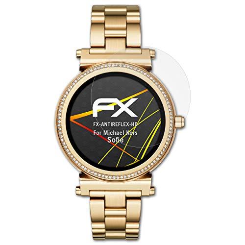 atFoliX Pellicola Proteggi compatibile con Michael Kors Sofie Protezione Pellicola dello Schermo, Rivestimento antiriflesso HD FX Protettore Schermo (3X)