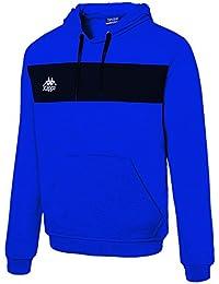 Kappa Caldo Sweat Sudadera, Hombre, (Blue Royal/Black), 8Y