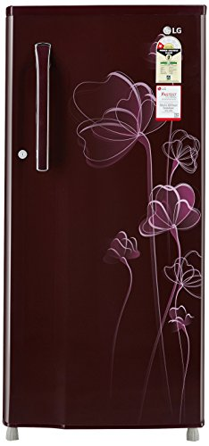LG 188 L 1 Star Direct-Cool Single Door Refrigerator (GL-B191KSHU.ASHZEBN, Scarlet Heart)  available at amazon for Rs.13100