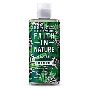 Faith in Nature Shampoo Naturale all'Albero del Tè, Vegano, senza Parabeni e senza SLS, non Testato su Animali, per… 12 spesavip