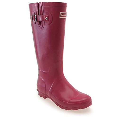 Kangol Womens Tall Wellies Ladies Wellington Boots Rubber Rain Design