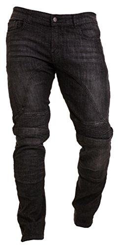 Qaswa Herren Motorradhose Jeans ...