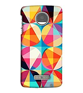 EagleHawk Designer 3D Printed Back Cover Case for Moto Z Play - D1240 :: Back Case that Fits to Your Phone Perfectly