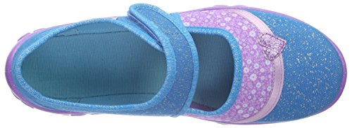 Superfit Bonny, Chaussons fille Blau (TÜRKIS MULTI 98)