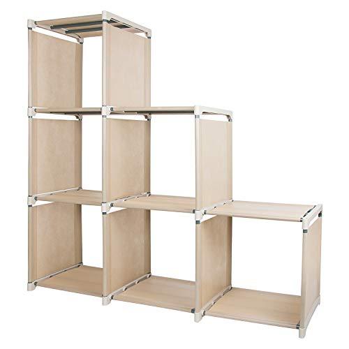 Azadx - Estantería Ajustable, Cubos de Almacenamiento, Estante de Almacenamiento para Muebles de hogar, Sala de Estar, Dormitorio, Oficina