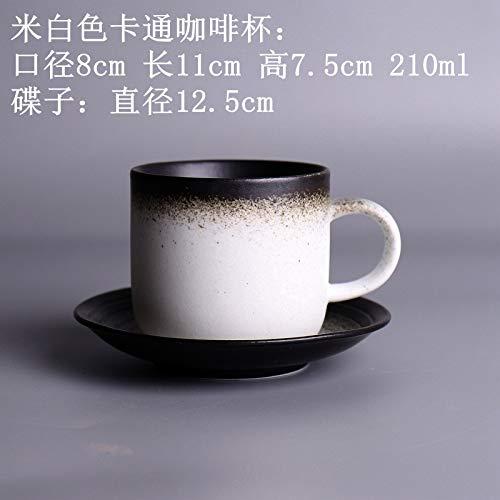 Handgemachte Steingut Boutique Kaffeetasse mit Untertasse