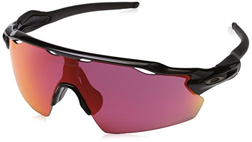Oakley Herren Radar Ev Pitch 921117 Sonnenbrille, Grau (Polished Black), 40