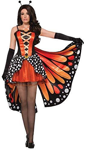 Monarch Schmetterling Kostüm Flügel - Forum Novelties 78464Miss Monarch Schmetterling Kostüm