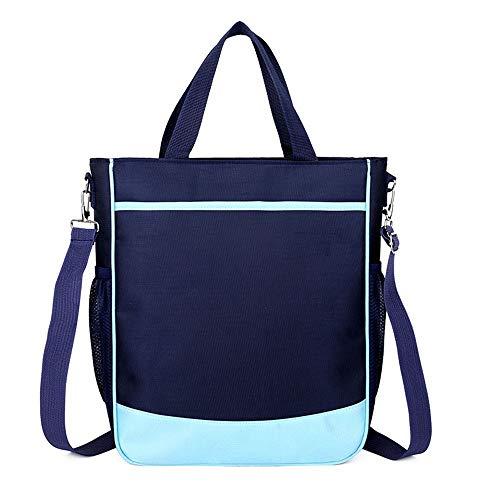 FCJ Daily Life Kinder Schultasche Kid Schultaschen Rucksack Kind Rucksack Kleinkind Kindergarten Schulter Bookbags Nette Umhängetasche Tote (Farbe : Blau, Größe : 34 * 27 * 10cm) -