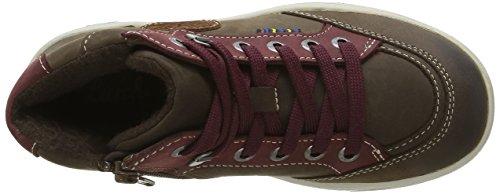 Lurchi - Daniel-tex, Scarpe da ginnastica Bambino Multicolore (Mehrfarbig (Taupe-Wine 19))