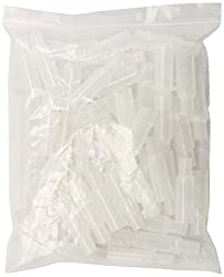 AlcoHAWK 50 Count Mouthpieces, Clear