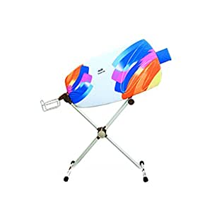 dazzl 360˚ Rotation Sided Ironing Board Patent Pending With Iron Rest-Watercolor