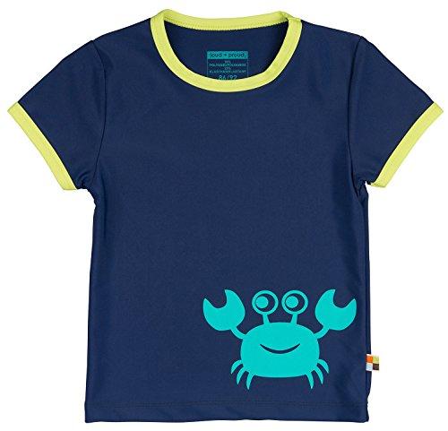 loud + proud Unisex Baby Schwimmshirt Badeshirt, Blau (Ultramarin) Ul), 92 (86/92)