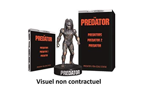 The Predator - Coffret 4 films Edition limitée 8 disques + figurine collector (4K UHD et Blu-ray)
